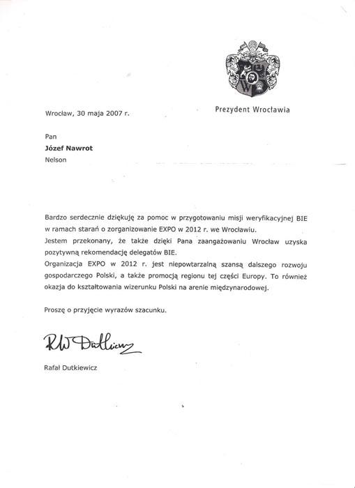 urząd miasta - p. dutkiewicz